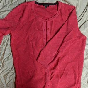 Pink Talbot cardigan